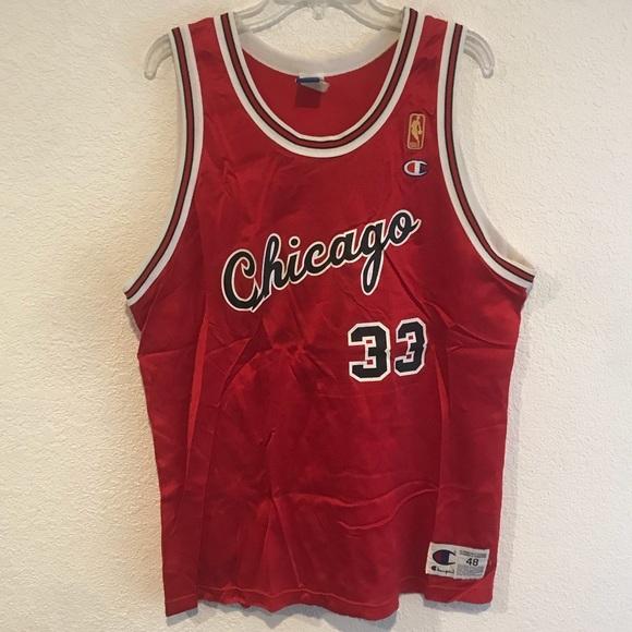 Champion NBA Chicago Bulls Scottie Pippen Jersey
